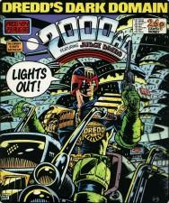 2000AD cover - Brett Ewins