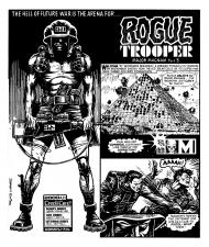 Rogue Trooper - Brett Ewins