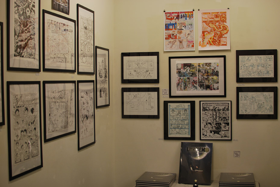 Little Nemo exhibition at Floating World Comics