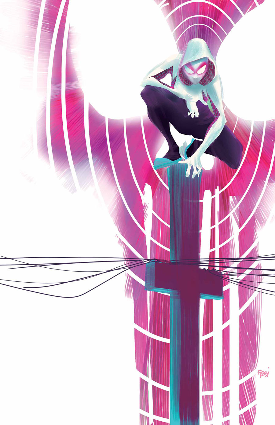 Spider-Gwen by Robbi Rodriguez