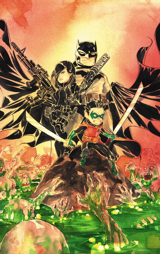Batman Li'l Gotham #11 by Dustin Nguyen