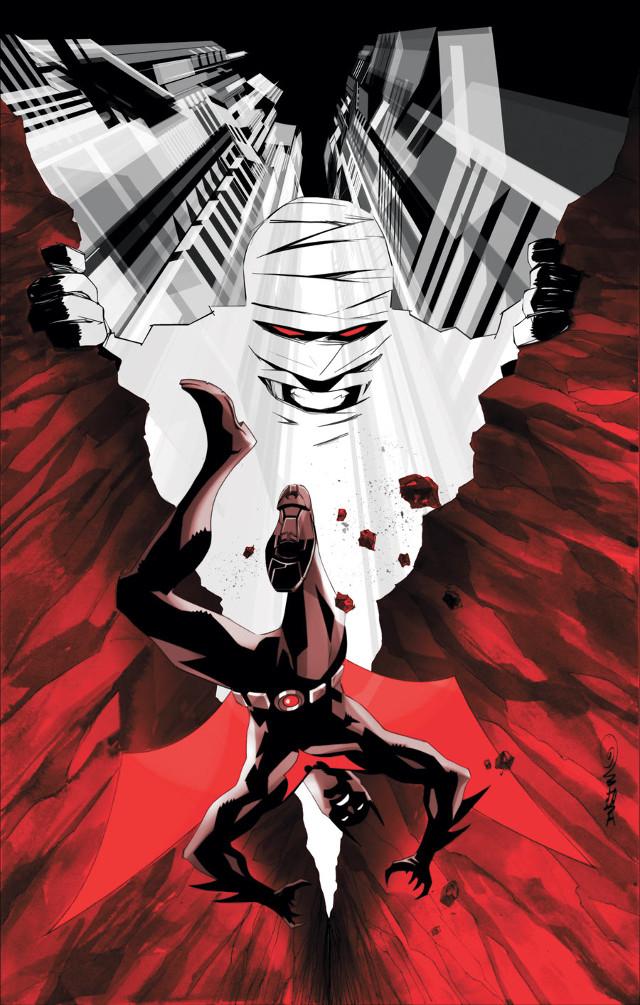 Batman Beyond 6 by Dustin Nguyen