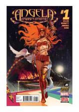 Angela: Asgard's Assassin #1 - Cover by Stephanie Hans