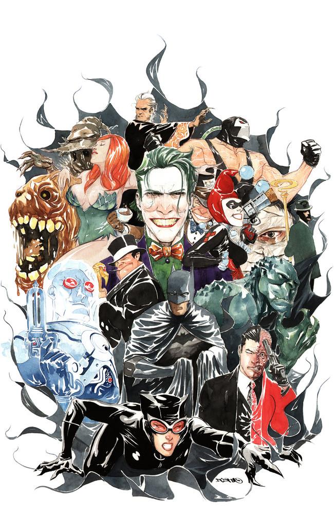 Batman 80-Page Giant by Dustin Nguyen