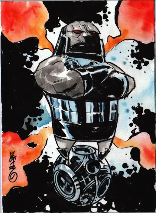 Darkseid Rules by Dustin Nguyen