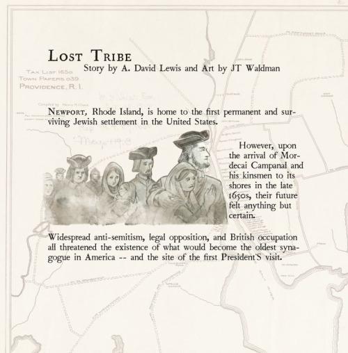"""Colonial Comics: """"Lost Tribe"""" - Art by JT Waldman"""