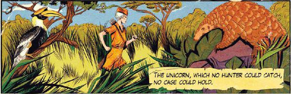 Hunt the Unicorn by Bevan Thomas and Chenoa Gao