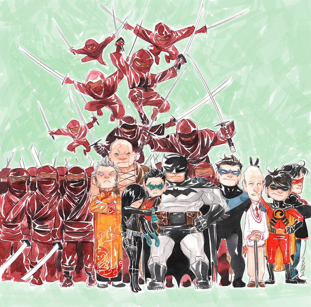 The Richly Realized Worlds of Artist Dustin Nguyen