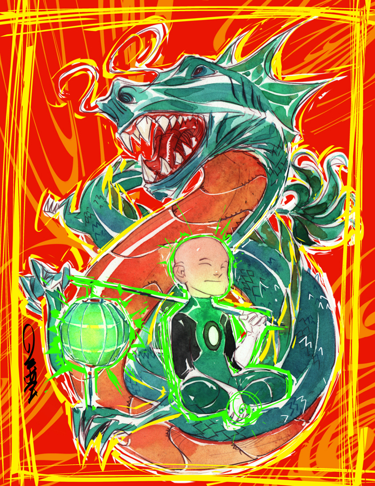 Year of the Dragon Kai Ro by Dustin Nguyen