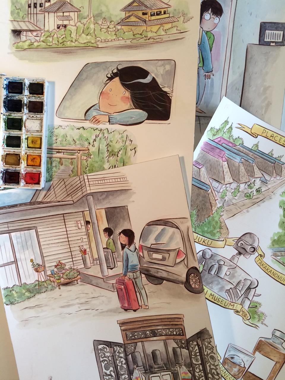 Tadaima by Emi Lenox (Image Comics)