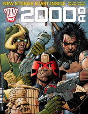 2000AD Prog 1924 - Cover by Brian Bolland