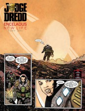 Judge Dredd: Enceladus - New Life by Rob Williams and Henry Flint (2000AD)