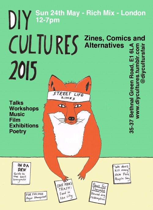 Small Press Round-Up, Early April 2015 - DIY Cultures 2015, Nerd