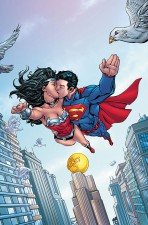 Future's End Superman-Wonder Woman #1 (Art by Tom Raney)