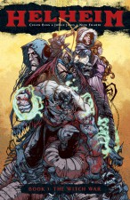 Helheim by Cullen Bunn and Joelle Jones (Oni Press)