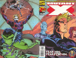 Mutant X #1 (Art by Tom Raney)