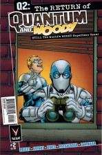 Quantum and Woody Vol. 2 #2 (Art by Tom Raney)