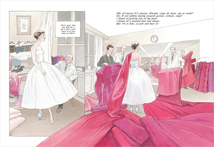 Girl in Dior by Annie Goetzinger (NBM)