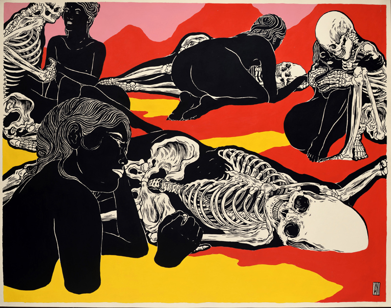 Journey Galactiko by Broken Fingaz (Howard Griffin Gallery Los Angeles)