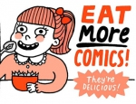 Eat More Comics by Gemma Correll (The Nib)