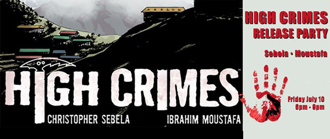 High Crimes launch party image