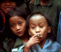 Johnny and Luthor Htoo, aged 12
