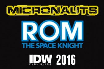 IDW Publishing Rom Micronauts