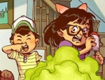 Greg Pak's alphabet book ABC Disgusting features lots of farts