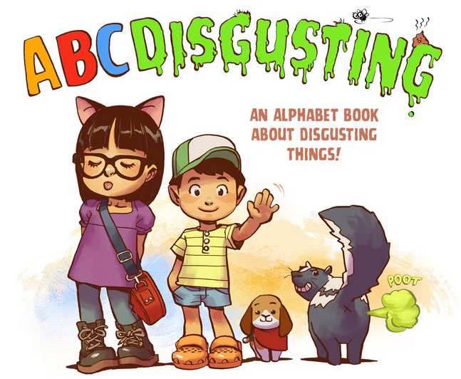 ABC Disgusting by Greg Pak and Takeshi Miyazawa