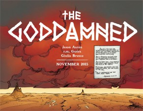 The Goddamned (Jason Aaron & RM Guera; Image Comics)