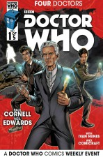 Doctor Who - Four Doctors by Paul Cornell and Neil Edwards (Titan Comics)