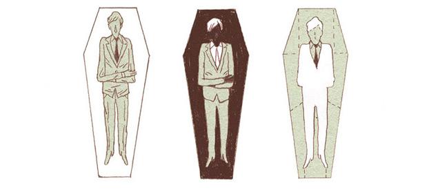Mijn Begrafenis (My Funeral) by Maarten De Saeger (Bries)