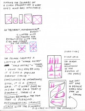 Frank Santoro (Comics Workbook): layout notes