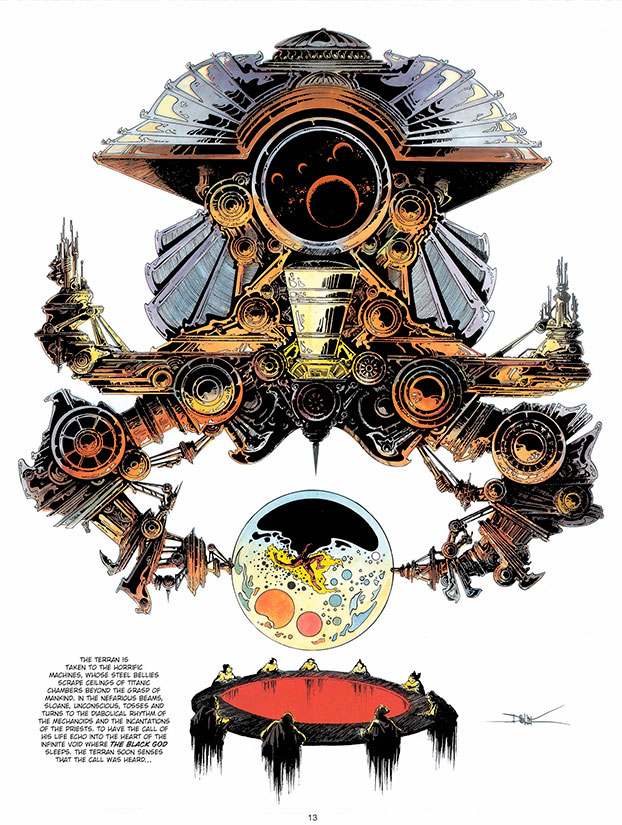 The 6 Voyages of Lone Sloane by Philippe Druillet (Titan Books)