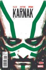 Karnak - Warren Ellis (W), Gerardo Zaffino (A) • Marvel Comics