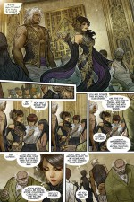 Monstress (Marjorie Liu & Sana Takeda; Image Comics)
