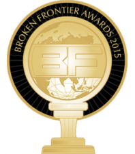 Broken Frontier Awards 2015 logo