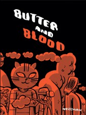 Butter and Blood, Steven Weissman (Retrofit Comics/Big Planet Comics)