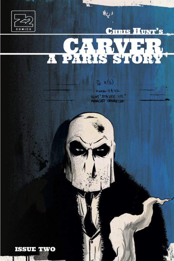 Carver: A Paris Story - Chris Hunt (W, A) • Z2 Comics