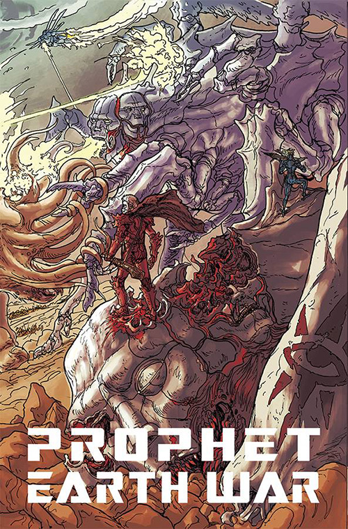 Prophet: Earth War - Brandon Graham (W), Giannis Milonogiannis (A) • Image Comics