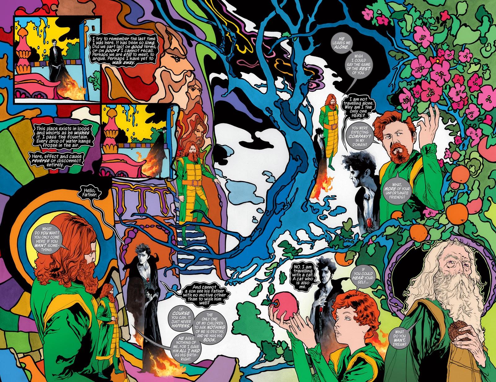 The Sandman: Overture by Neil Gaiman and JH Williams III (DC/Vertigo Comics)