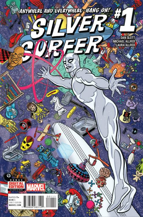 Silver Surfer - Dan Slott (W), Mike Allred (A) • Marvel