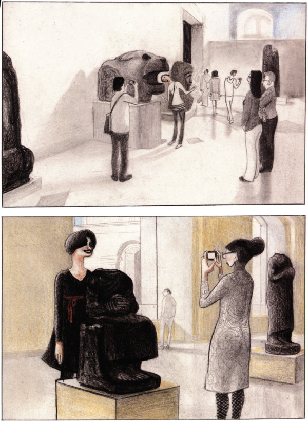 Cruising Through the Louvre - David Prudhomme (W/A) • NBM Publishing