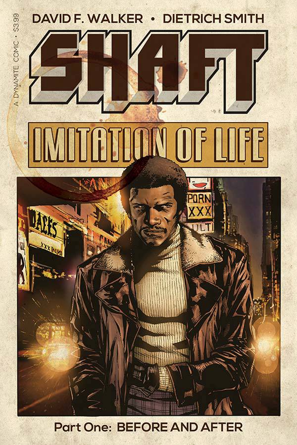 Shaft: Imitation of Life #1 Cover