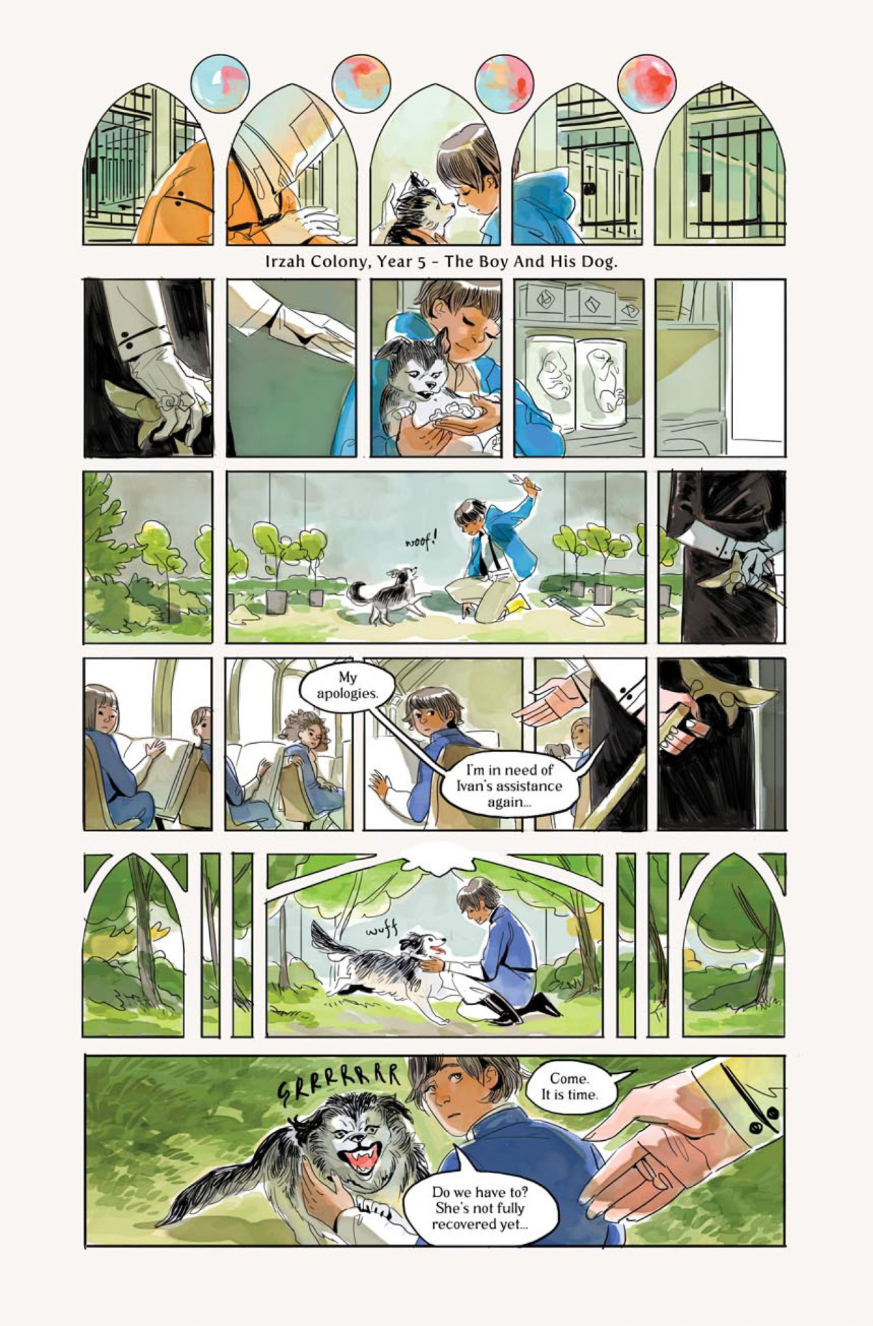 Mirror by Emma Rios & Hwei Lim Page 1