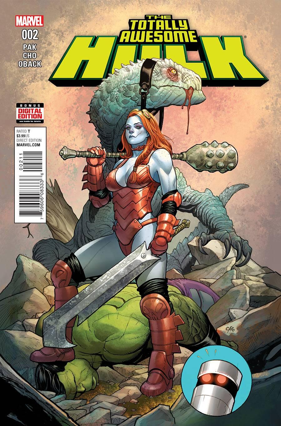 Totally Awesome Hulk - Greg Pak (W), Frank Cho (A) • Marvel Comics