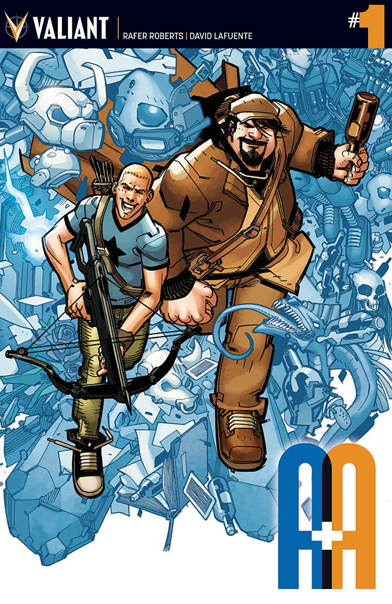 A&A: The Adventures of Archer and Armstrong - Rafer Roberts (W), David Lafuente (A) • Valiant