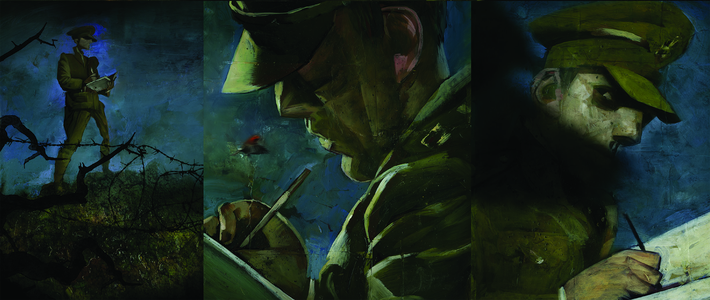 Black Dog: The Dreams of Paul Nash (Dave McKean; Dark Horse Comics)