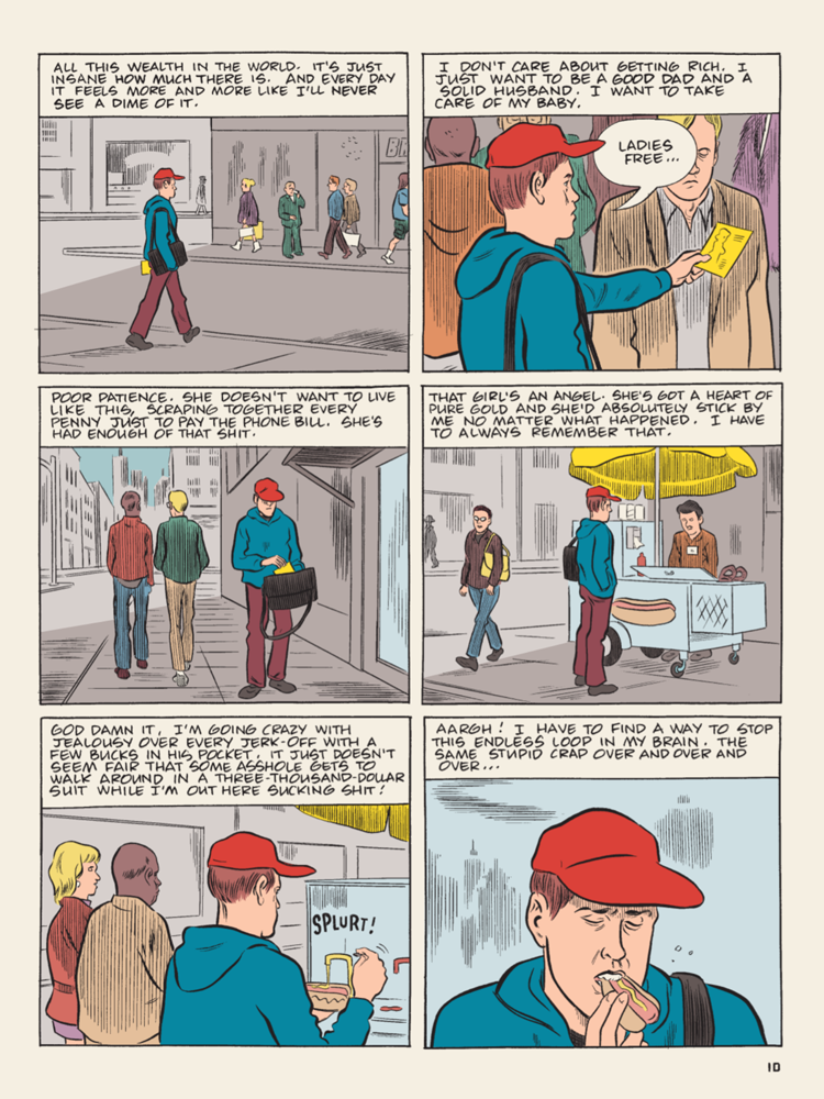 Patience by Daniel Clowes (Fantagraphics Books)