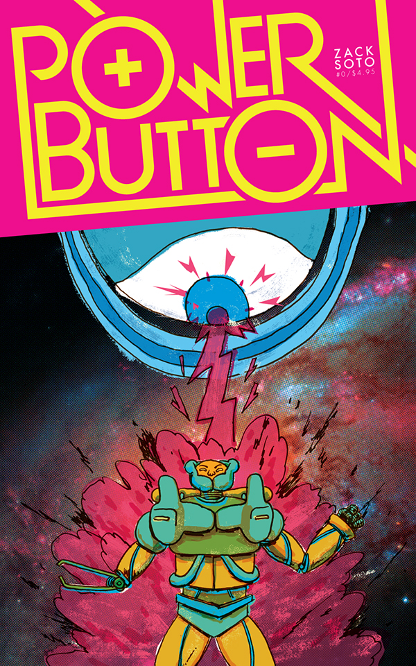 Power Button - Zack Soto (W/A) • Alternative Comics